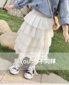 女童紗裙半身裙寶寶春夏裝2019新款童裝超洋氣兒童公主裙蛋糕裙子