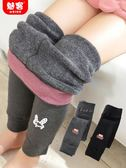 童褲 女童打底褲新款冬裝加絨加厚洋氣外穿保暖棉褲兒童寶寶長褲子