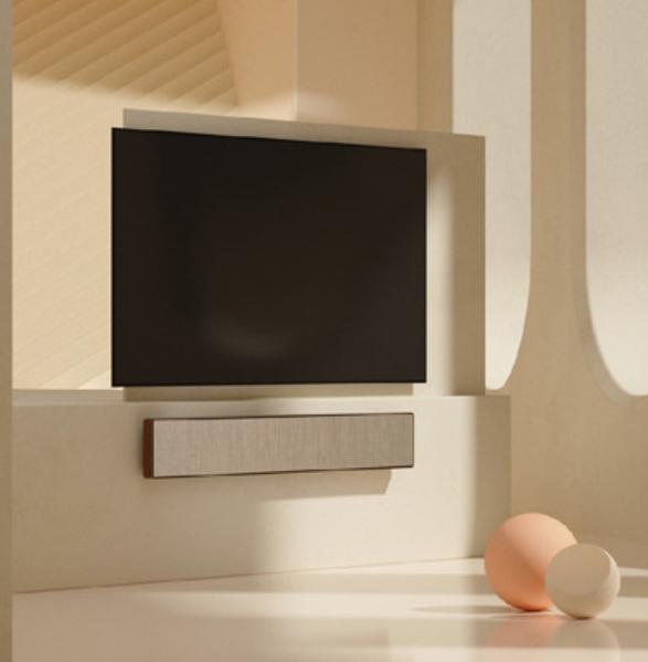 【新竹家庭劇院專賣 名展音響】 B&O 首款 Soundbar 無邊框設計 Beosound Stage 古銅款 遠寬公司貨享保固