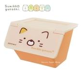 限定SAN X 角落生物貓咪掀蓋式桌上收納盒小物收納盒
