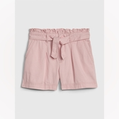 Gap女童甜美荷葉邊飾休閒短褲540063-純粉色
