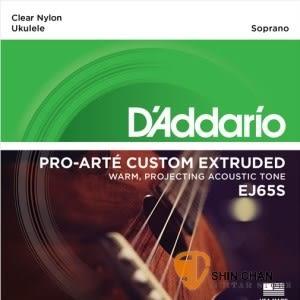 D'Addario EJ65S 21吋烏克麗麗弦 Soprano (適用調弦法:1B-2F#-3D-4A) 【EJ-65S/UKULELE/DAddario】