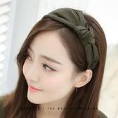 髮箍 髮卡髮箍女韓國式簡約氣質寬邊髮捆壓髮帶百搭外出網紅洗臉頭箍飾 晶彩 99免運