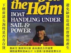 二手書博民逛書店Easy罕見on the Helm: Boat Handling Under Sail and Power-輕松駕