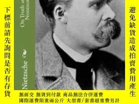 二手書博民逛書店On罕見Truth And Lies In A Nonmoral SenseY364682 Friedrich