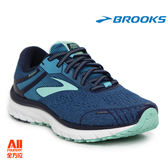 【BROOKS】女款支撐型慢跑鞋 Adrenaline GTS18系列 - 優雅藍(682E495)全方位跑步概念館