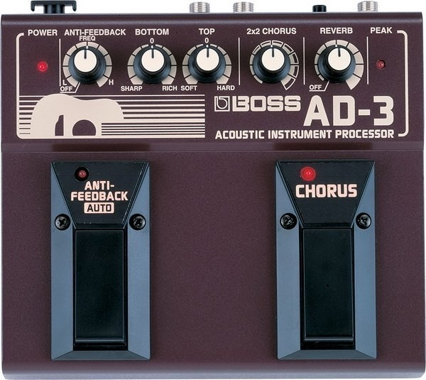☆ 唐尼樂器︵☆ BOSS AD-3 Acoustic Instrument Processor 空心吉他效果器