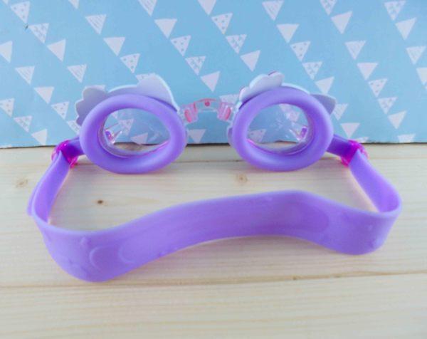 【震撼精品百貨】Hello Kitty 凱蒂貓~KITTY蛙鏡-聖代圖案-紫色