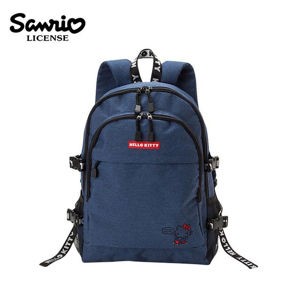 【日本正版】凱蒂貓 織帶後背包 背包 後背包 書包 Hello Kitty 三麗鷗 Sanrio - 809907