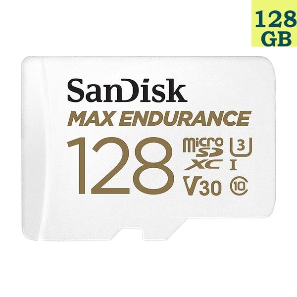 SanDisk 128GB 128G microSDXC【Max Endurance】microSD SD V30 U3 4K C10記憶卡