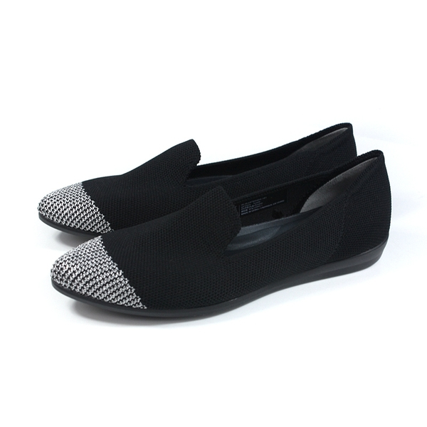 inooknit 懶人鞋 尖頭 黑/閃銀 女鞋 IK-BJ3FW0402-101 no037