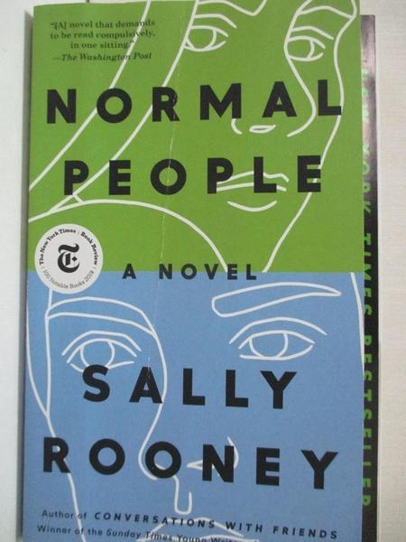 【書寶二手書T1/原文小說_LBH】Normal People_Rooney, Sally