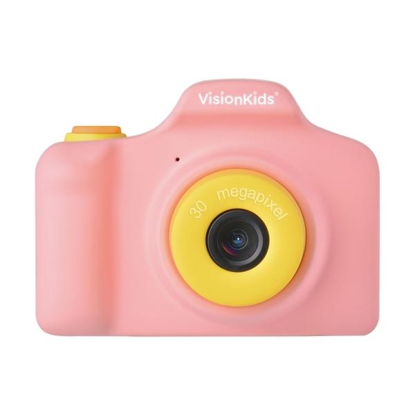 VisionKids HappiCamu Pro 3000萬像素兒童數位相機 粉紅