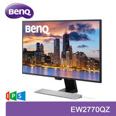【免運費】BenQ 明基 EW2770QZ 27吋 智慧低藍光 2K 顯示器 / 2560x1440