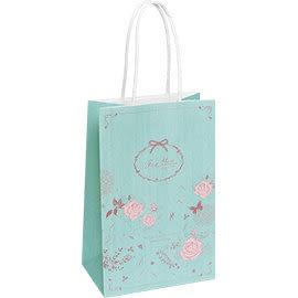 《荷包袋》手提紙袋大8K 復刻玫瑰-綠(紙繩)