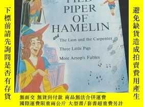 二手書博民逛書店PIED罕見PIPER OF HAMELIN , THE LIO