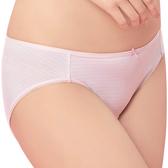 思薇爾-惹萌漾萌學趣系列M-XXL印花低腰三角內褲(歡樂粉)