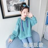 女童秋冬裝衛衣加絨新款韓版潮中大兒童裝小女孩洋氣加厚上衣 極客玩家