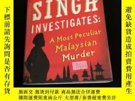 二手書博民逛書店Inspector罕見singh investigates: a most peculiar Malaysian