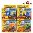 工程車模型積木 8809 (有4款)/一款入(促20) 貨車 挖土機 壓路機 兒童玩具 -CF120483