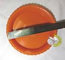 紅棕色[6吋盆專用塑膠盛水水盤]  盆栽小水盤 盆栽底盤