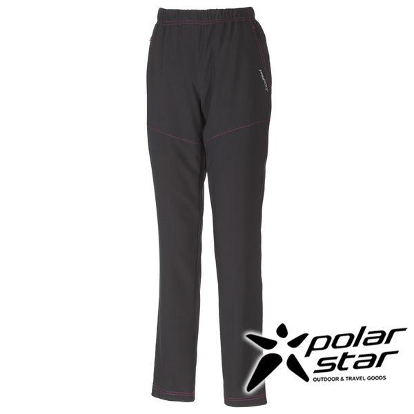 PolarStar 中性排汗彈性長褲 黑/暗紅 戶外│休閒│釣魚褲│防曬褲│吸濕排汗褲 P16340