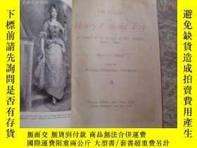 二手書博民逛書店the罕見history of henry esmond esq