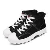 Skechers 休閒鞋 Roadies-True Roots-Hi 黑 白 高筒 帆布鞋 女鞋 【PUMP306】 74380BLK