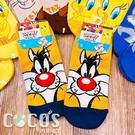 華納 樂一通系列 大嘴怪兔巴哥翠迪鳥 短襪 造型襪 襪子 直版襪 B款 COCOS SO040