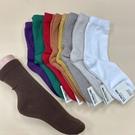 【8雙減百】韓襪 多件優惠 素色長筒襪 質感佳 百搭襪子 多種顏色