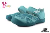 New Balance 208 小童 寶寶涼鞋 護趾 避暑叢林 透氣清涼 運動涼鞋 O8509#藍綠◆OSOME奧森鞋業