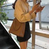 子母包2019韓版氣質chic復古方包手提大包包女簡約大容量側背子母包 【驚喜價格】