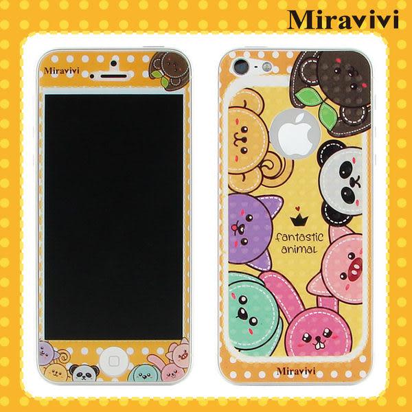 Miravivi iPhone 5 動物狂想曲系列雙面彩繪保護貼-降價大優惠