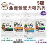 *KING WANG*NUTRO美士 全護營養系列 5LB 幼犬/成犬/小顆粒配方 優質鮮肉為第一食材
