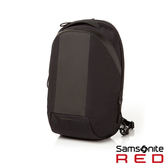 Samsonite RED  PORRIS  運動極輕量休閒後背包(黑)