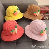 寶寶帽子秋冬季公主女童時尚潮小孩3男兒童漁夫帽01歲2秋季 晴天時尚館
