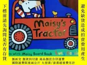 二手書博民逛書店maisy's罕見tractor 兒童讀物 英文版Y42402