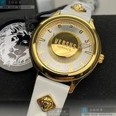 VERSUS VERSACE凡賽斯女錶40mm白色錶面白錶帶