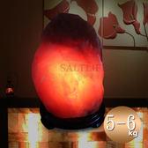 【鹽夢工場】天然精選富貴紅鹽燈5-6kg