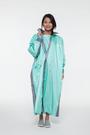 【東門城】佐海 W009 W027側開雨衣 藍 連身