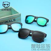 新款TR90眼鏡框一鏡兩用偏光太陽鏡超輕眼鏡架防紫外線墨鏡潮