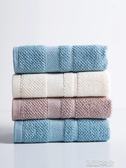 素色棉質吸水洗臉毛巾家用洗臉巾男女成人加厚不掉毛擦手巾 潮流前線