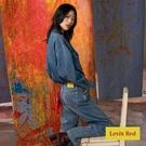 Levis Red 工裝手稿風復刻再造 女款 復古中腰直筒牛仔寬褲 / 精工中藍染水洗 / 寒麻纖維