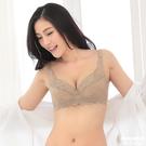 【岱妮蠶絲】GB2107F機能集中型花紋蠶絲內衣(金色)