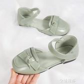 女童皮鞋年春季新款單鞋韓版小皮鞋奶奶鞋軟底休閒鞋 雙十二全館免運