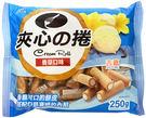 【吉嘉食品】旺旺夾心捲-香草/藍(經濟包...