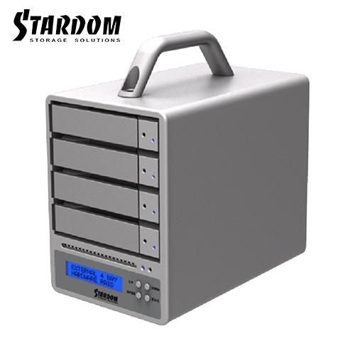 STARDOM SR4-SB3+ USB3.0/eSATA 4bay 3.5吋磁碟陣列設備