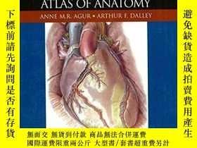 二手書博民逛書店Grant s罕見Atlas Of AnatomyY364682 Agur, Anne M. R.  Dall