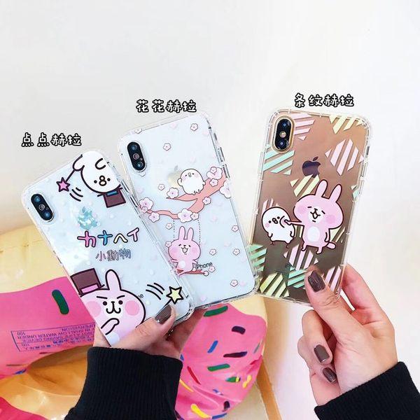 【SZ15】卡通兔子氣囊防摔殼iphone xs max 手機殼 iphone 8 plus手機殼 iphone 6s plus 手機殼XR