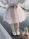 女童半身裙 女童紗裙半身裙洋氣裙子春裝新款中小童寶寶蓬蓬裙短裙兒童公主裙【全館免運】